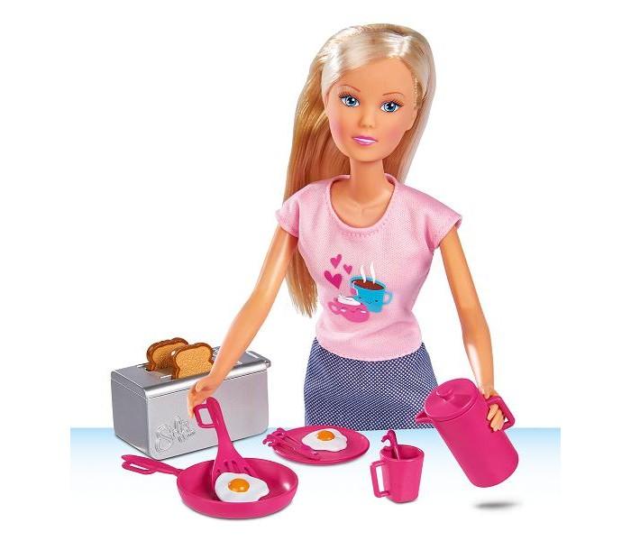 Купить Куклы и одежда для кукол, Simba Кукла Завтрак у Штеффи 29 см