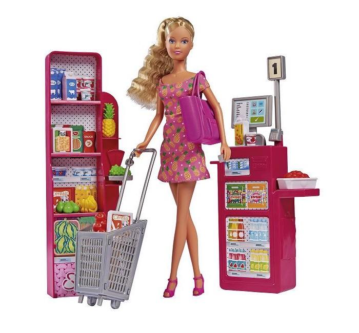 Картинка для Куклы и одежда для кукол Simba Кукла Штеффи Супермаркет 29 см