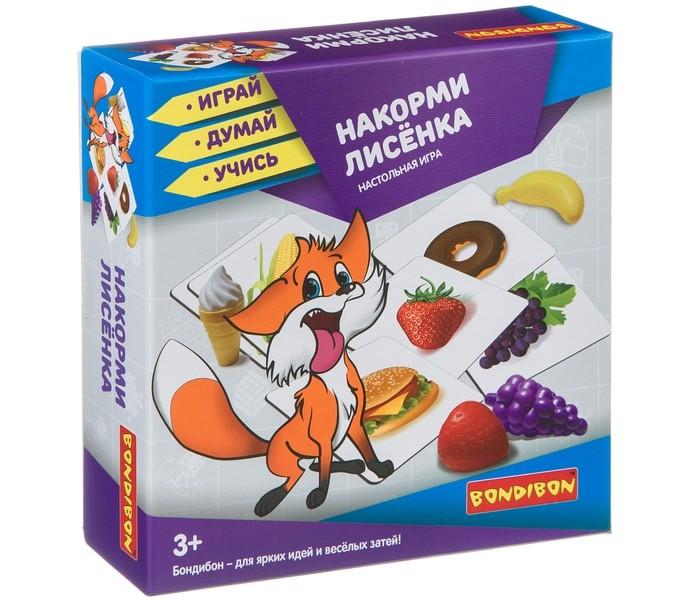 Настольные игры Bondibon Настольная игра Накорми лисёнка недорого