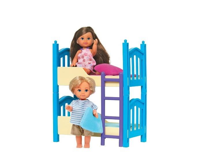 Картинка для Куклы и одежда для кукол Simba Кукла Еви с кроваткой 12 см