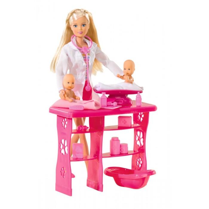 Купить Куклы и одежда для кукол, Simba Кукла Штеффи Детский доктор 29 см