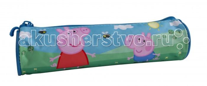 Пеналы Свинка Пеппа (Peppa Pig) Пенал-тубус набор игровой peppa pig 10 см