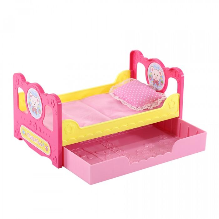 Кроватка для куклы Kawaii Mell Милая Мелл 2 в 1