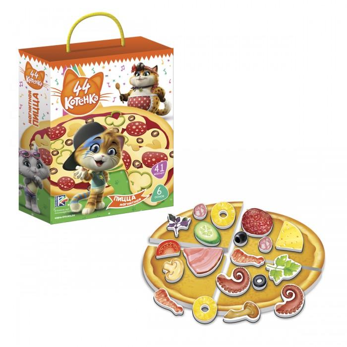 Картинка для Настольные игры Vladi toys Игра магнитная 44 Котенка Пицца