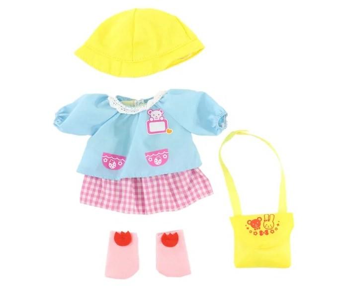 Картинка для Куклы и одежда для кукол Kawaii Mell Комплект одежды в детский сад для куклы Милая Мелл