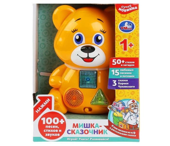 Купить Электронные игрушки, Умка Сказочник-мишка 3 сказки