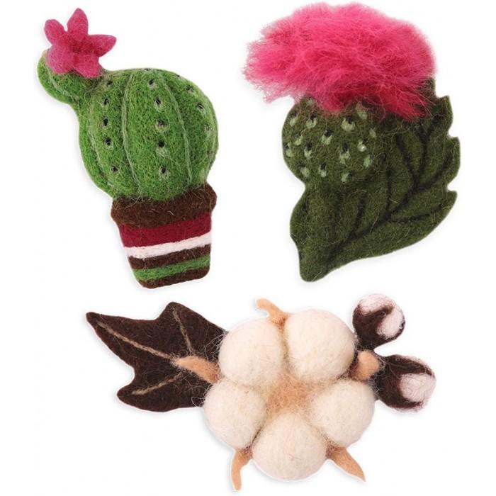Наборы для творчества Woolla Набор для валяния Цветущие растения