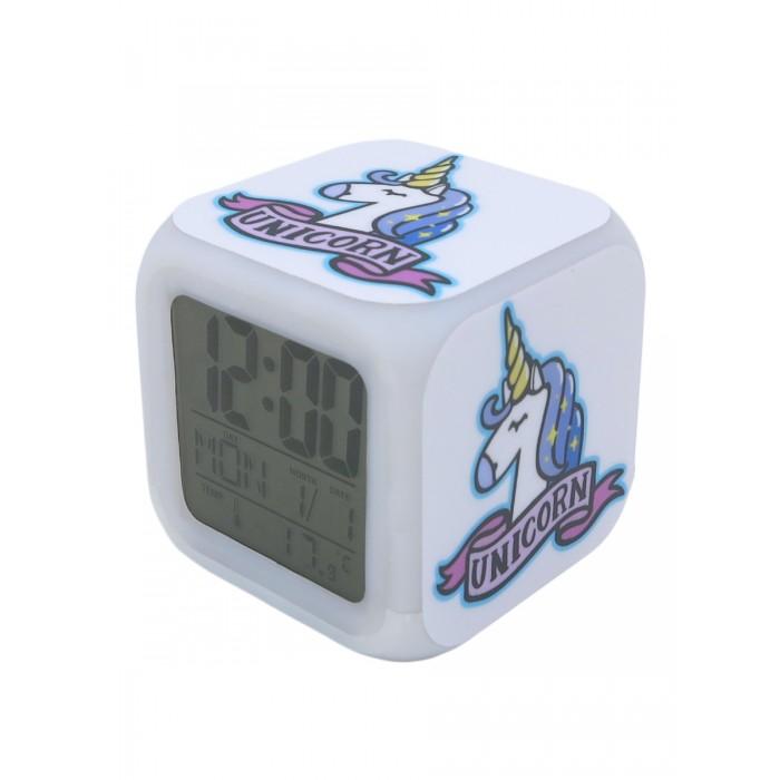 Часы Pixel Crew будильник Baby pig Поросенок с подсветкой