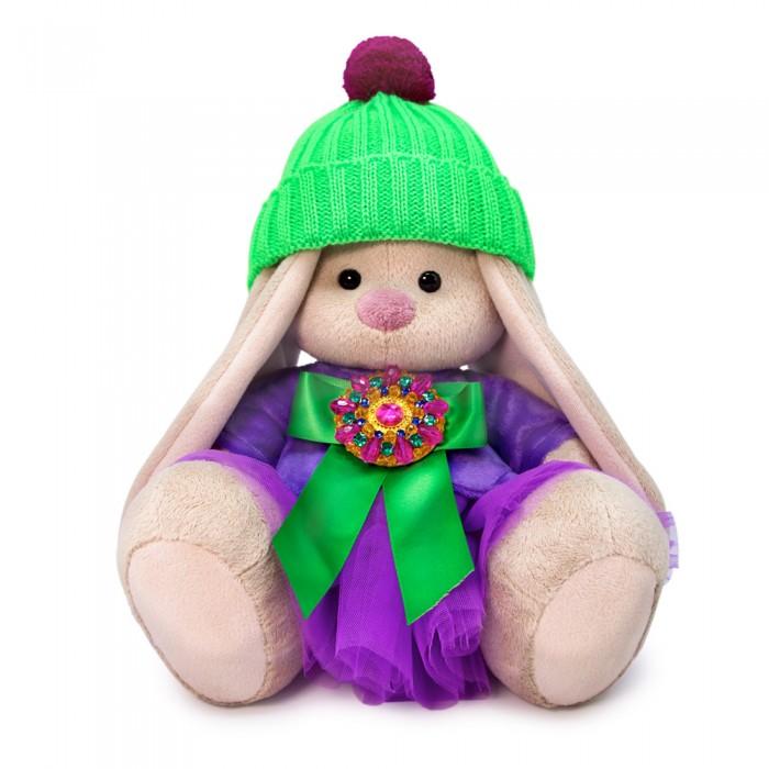 Картинка для Мягкие игрушки Budi Basa Зайка Ми Пурпурный александрит 18 см