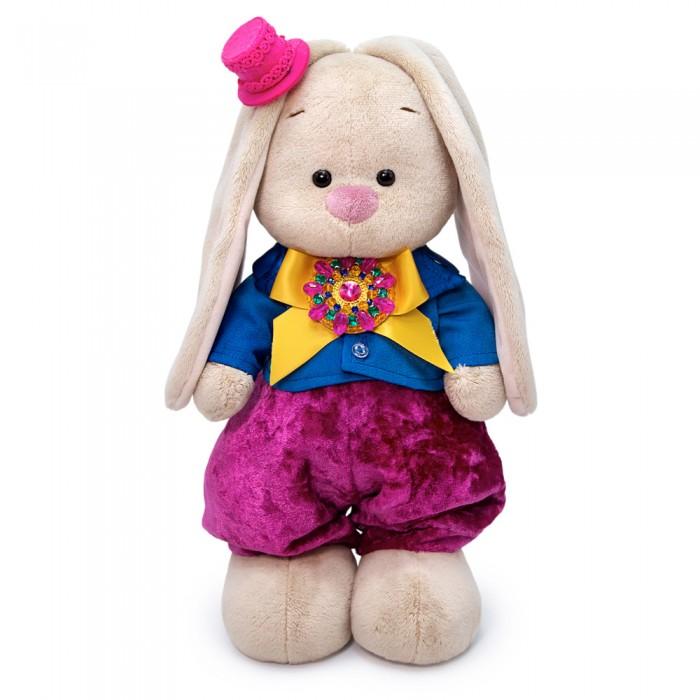 Картинка для Мягкие игрушки Budi Basa Зайка Ми Бургундский рубин 25 см