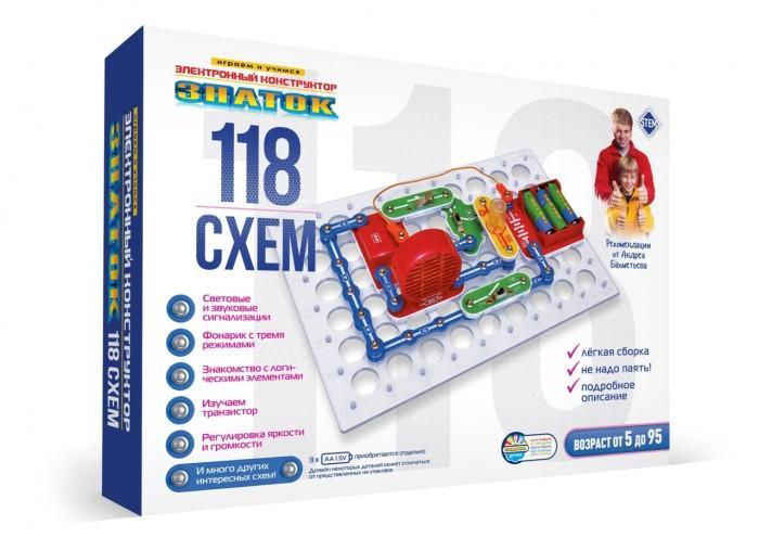 Картинка для Сборные модели Знаток Конструктор 118 схем