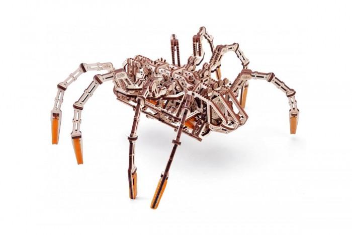 Купить Сборные модели, Wood Trick Механическая сборная модель Космический паук