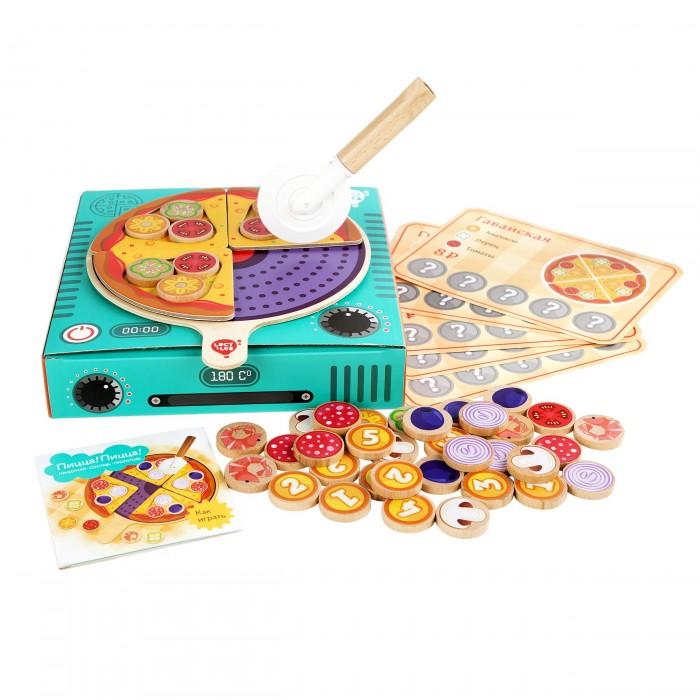Картинка для Деревянные игрушки Lucy & Leo Пицца! Пицца!