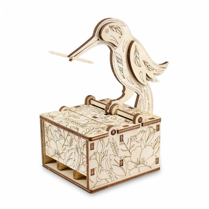 Конструктор Eco Wood Art деревянный интерьерный 3D Ewa Design Птичка
