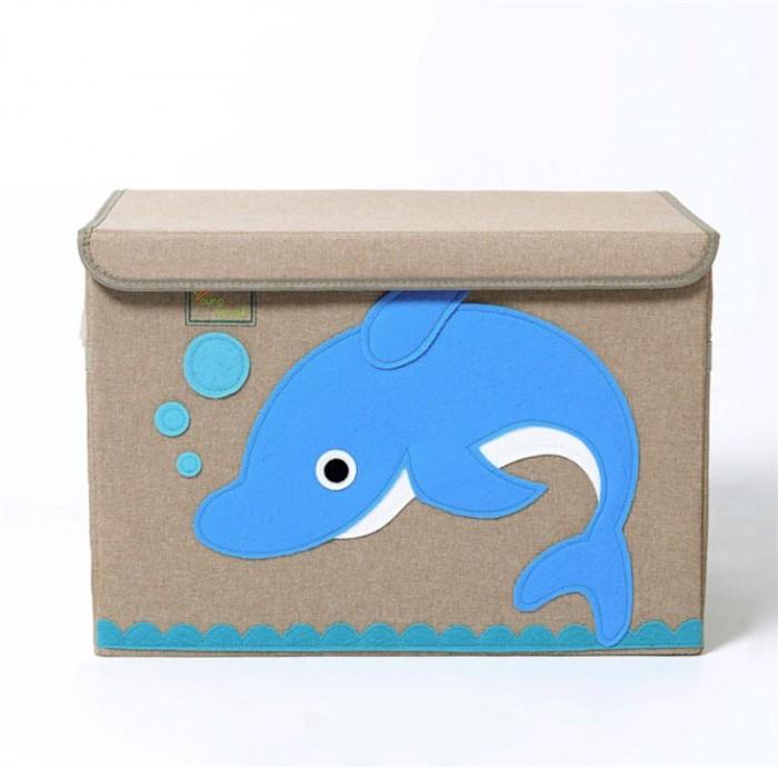 Joki Home Сундук для вещей и игрушек Дельфин 53х36х36 см