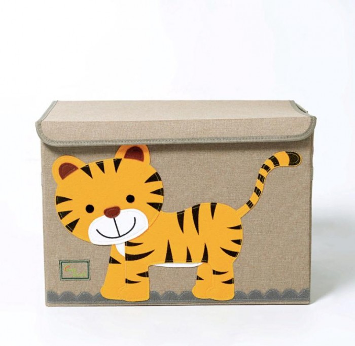 Joki Home Сундук для вещей и игрушек Тигр 53х36х36 см
