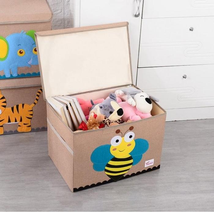 Joki Home Сундук для вещей и игрушек Пчела 53х36х36 см