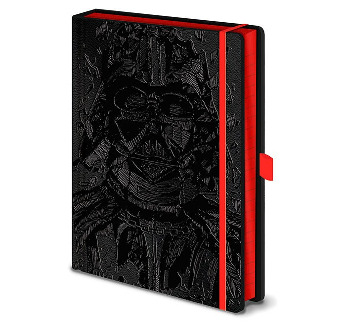 Купить Канцелярия, Pyramid International Блокнот Звёздные войны Вейдер Арт А5