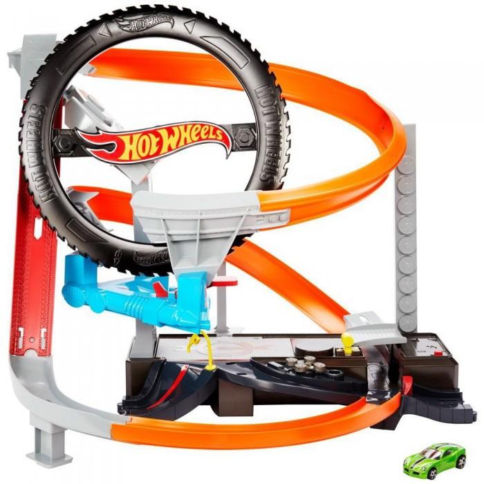 Машины Mattel Hot Wheels Сити игровой набор Шиномонтажная мастерская машины mattel hot wheels сити игровой набор шиномонтажная мастерская