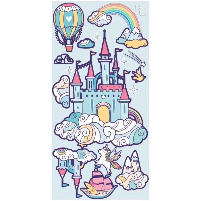 детские наклейки Детские наклейки Laika Интерьерные наклейки Замок настоящей принцессы