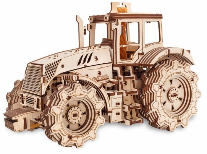 Конструктор Eco Wood Art деревянный 3D Ewa Трактор