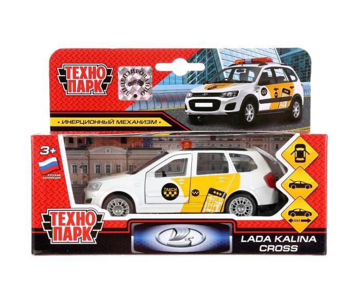 Машины Технопарк Инерционная машина Lada Kalina Cross Такси машины технопарк машина газ чайка такси