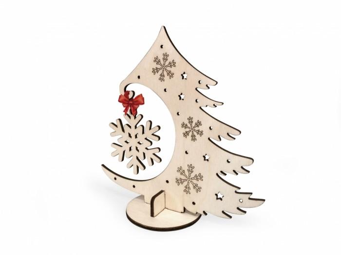 Наборы для творчества Lemmo Набор деревянный Новогодняя елочка