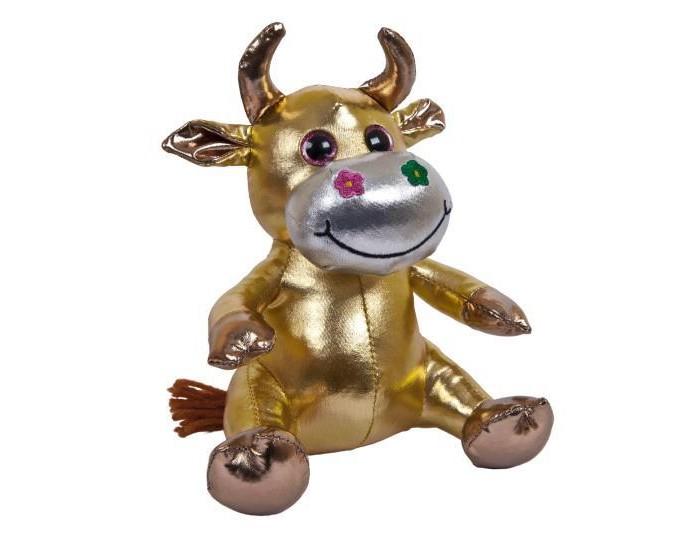Новогодние украшения ABtoys Мягкая игрушка Коровка 16 см