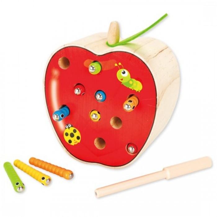 Купить Деревянные игрушки, Деревянная игрушка Mapacha Игра-рыбалка Поймай гусеницу