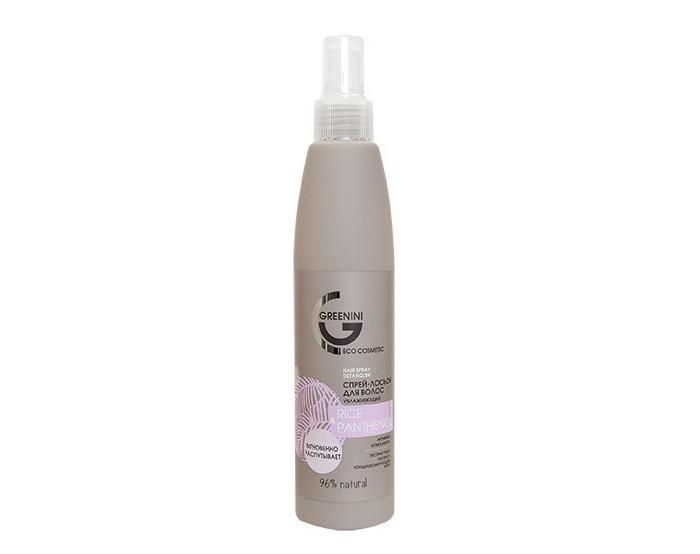 Косметика для мамы Greenini Спрей-лосьон для волос RicePantenol Увлажняющий 250 мл ducray неоптид лосьон от выпадения волос для мужчин 100 мл