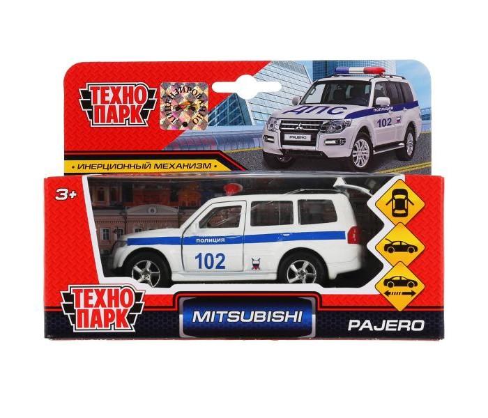 Купить Машины, Технопарк Инерционная машина Mitsubishi Pajero Полиция