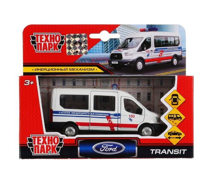Технопарк Инерционная машина Ford Transit Скорая
