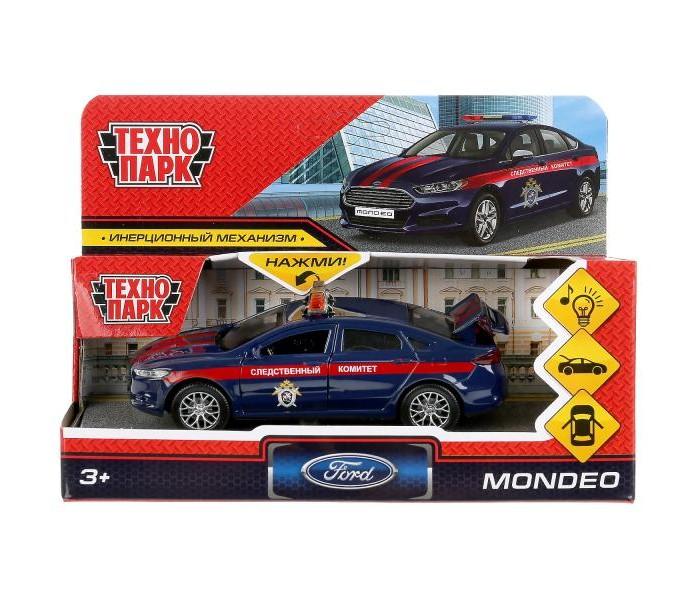 Технопарк Инерционная машина Ford Mondeo Следственный комитет со светом и звуком