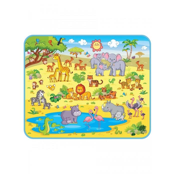 Картинка для Игровые коврики Mambobaby Сафари 160х130х0,5 см