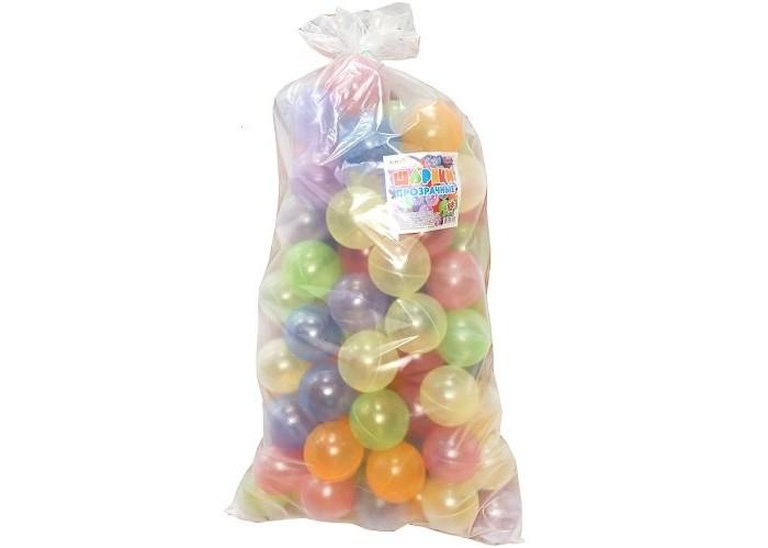 Картинка для Сухие бассейны ЮгПласт Набор шариков Bubble gum 8 см 100 шт.
