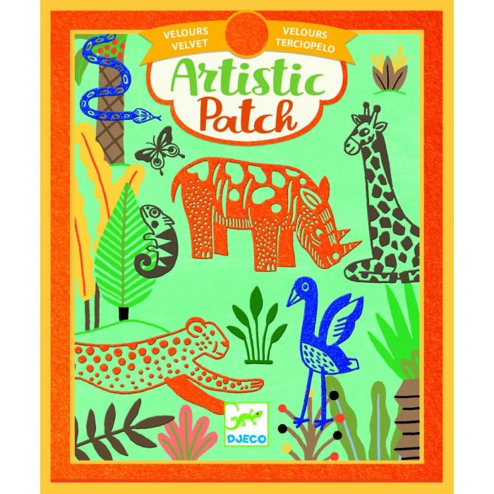 Картинка для Наборы для творчества Djeco Набор для творчества Коллаж Дикие животные