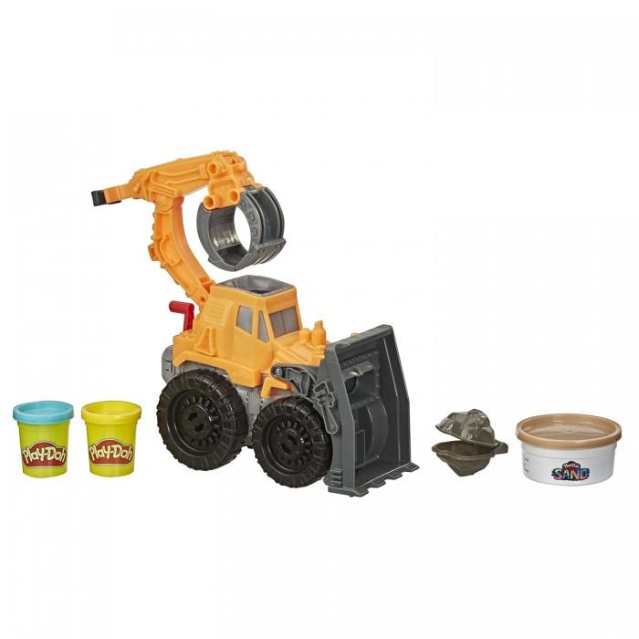Картинка для Пластилин Play-Doh Набор игровой Wheels Погрузчик