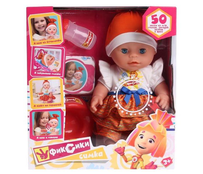 Фото - Куклы и одежда для кукол Карапуз Интерактивный пупс Фиксики Симка 30 см интерактивный пупс joy toy маленькая ляля 058 19r