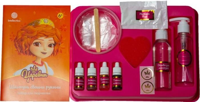 Наборы юного парфюмера Intellectico Набор Spa Шампунь своими руками Царевны Варя
