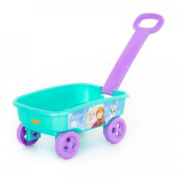 игрушки в песочницу Игрушки в песочницу Полесье Тележка Disney Холодное сердце