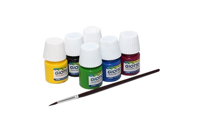 Краски Giotto Paint Pot Гуашь 6 цветов краски universal studios гуашь 6 цветов гадкий я
