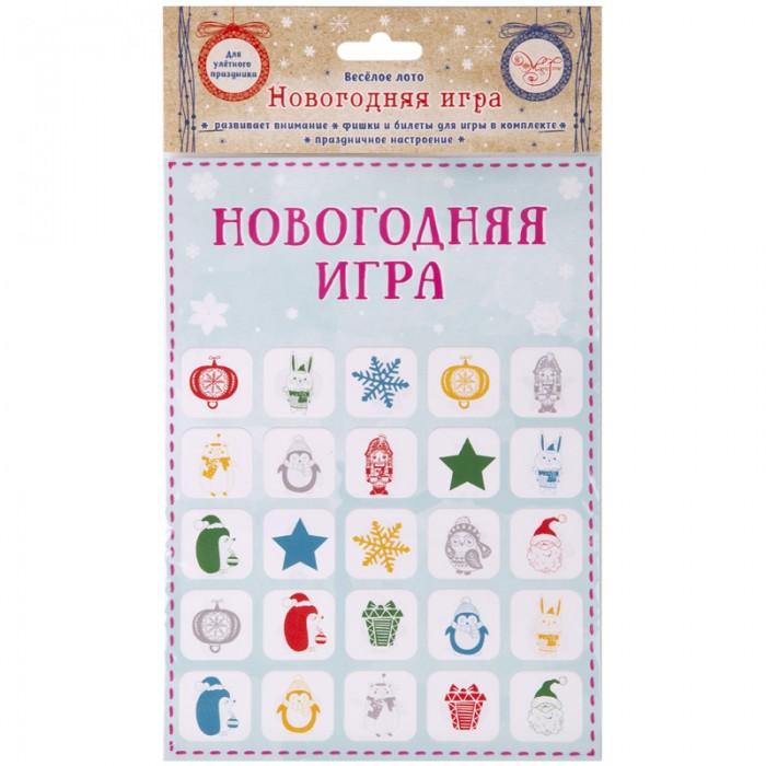 Фото - Игры для малышей Феникс Презент Детская игра Новогоднее лото пластиковое лото для малышей что в корзинке найди половинку