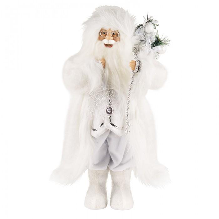 Новогодние украшения Maxitoys Дед Мороз белоснежный 32 см