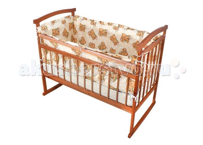 Бортики в кроватку Карапуз 127-КИ карапуз комплект в коляску 137 ки