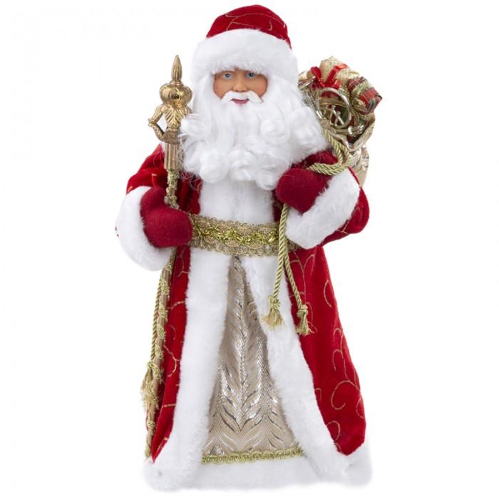 Купить Новогодние украшения, Феникс Презент Декоративная кукла Дед Мороз в красном костюме 30.5 см