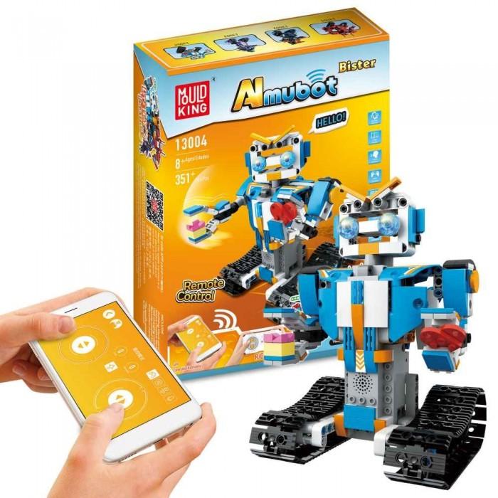 Конструктор Mould King электромеханический Гусеничный Робот Bister (351 деталь)