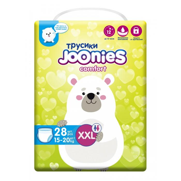 Подгузники-трусики Joonies Подгузники-трусики Comfort XXL (15-20 кг) 28 шт.