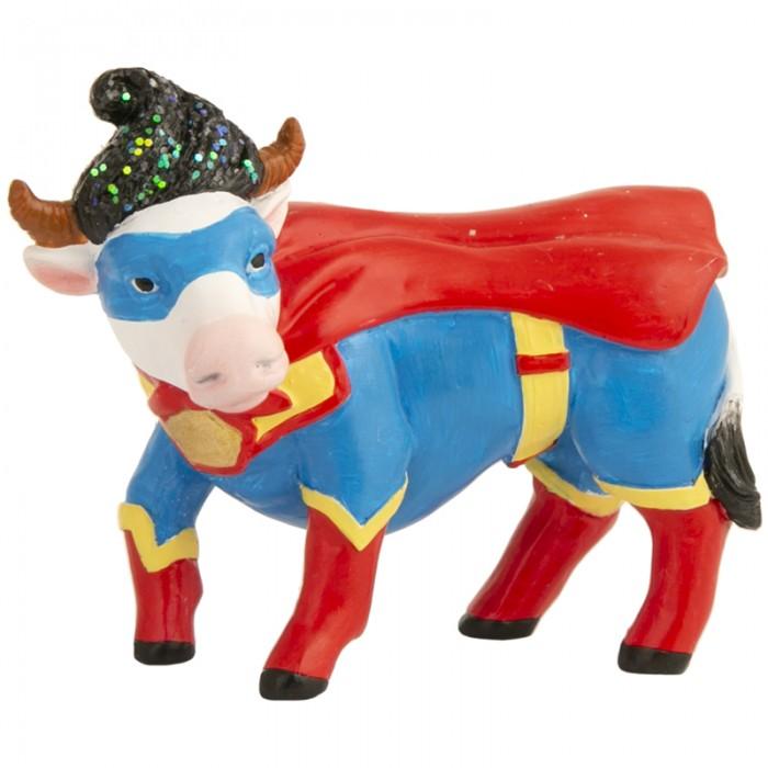 Новогодние украшения Феникс Презент Декоративная фигурка Бычок-супермен