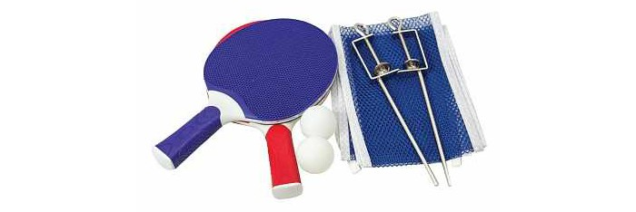 Фото - Спортивный инвентарь Atemi Набор для настольного тенниса: 2 ракетки, 3 мяча, сетка набор для игры в теннис abtoys 2 ракетки 2 мяча на блистере 43x21x4 5
