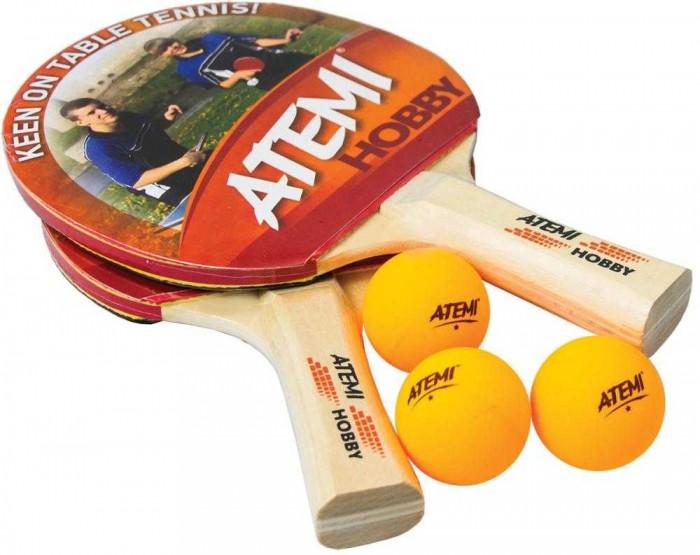 Купить Спортивный инвентарь, Atemi Набор для настольного тенниса Hobby SM